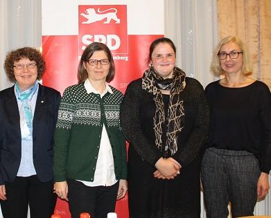 Die Referentinnen 2016 haben ihr Kommen wieder zugesagt. v.l. Pfrin. Ulrike Walter, Esther Graf, Elif Elmas